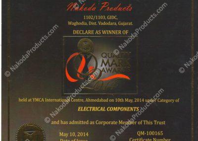 qualitymark-certificate