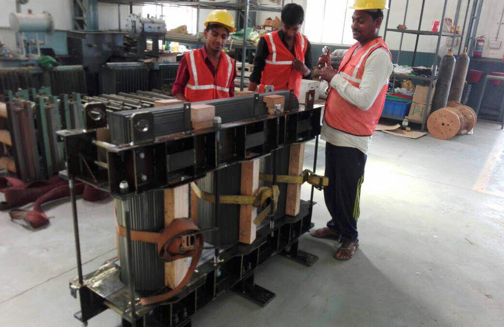 1600 KVA, On Load Tap Changer, Core Assembly
