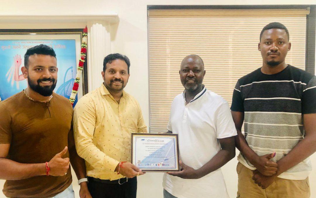 Dealership agreement with Masco Solar Solution, Zimbabwe