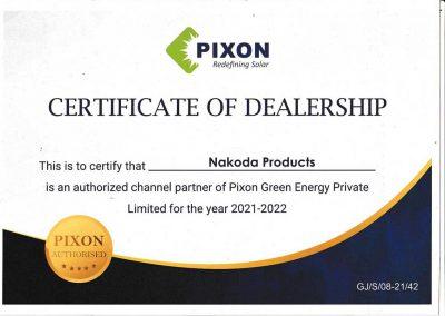 PixonDealerCerti